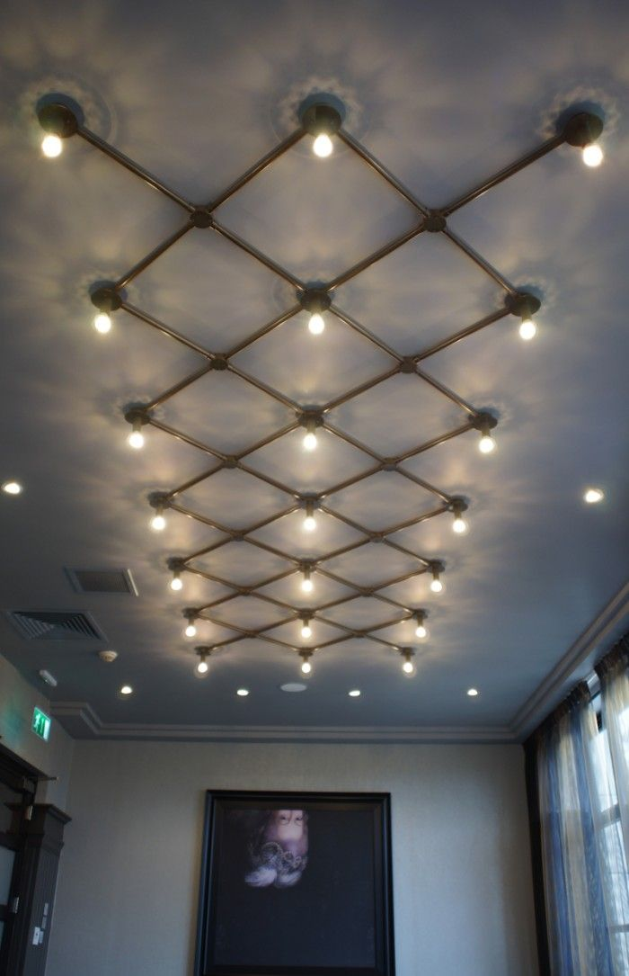 Northern Lights Urban Sanctuary Ceiling Light Design Industrial Light Fixtures Industrial Lighting Design