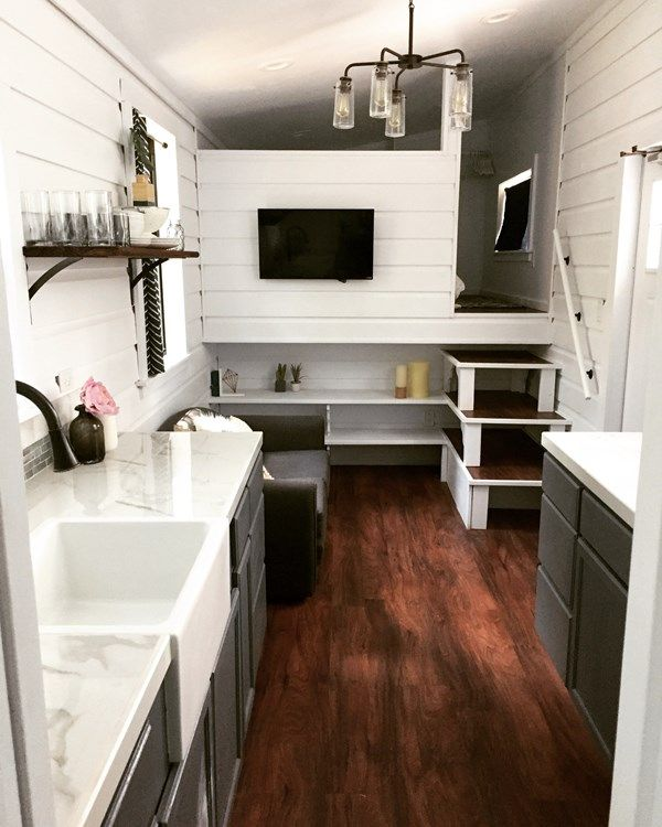 Modern Farmhouse Feel Tiny Tiny House Listings Tiny House