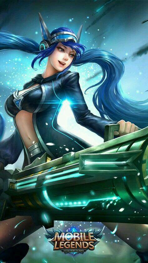 Layla Classic Malefic Gunner Mobile Legends Bang Bang
