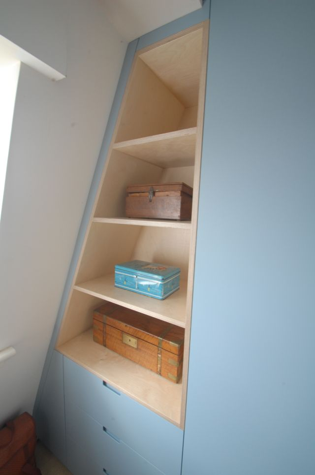 Karl Rees Cabinet Maker Attic Wardrobe Custom Made Furniture Bedroom Storage
