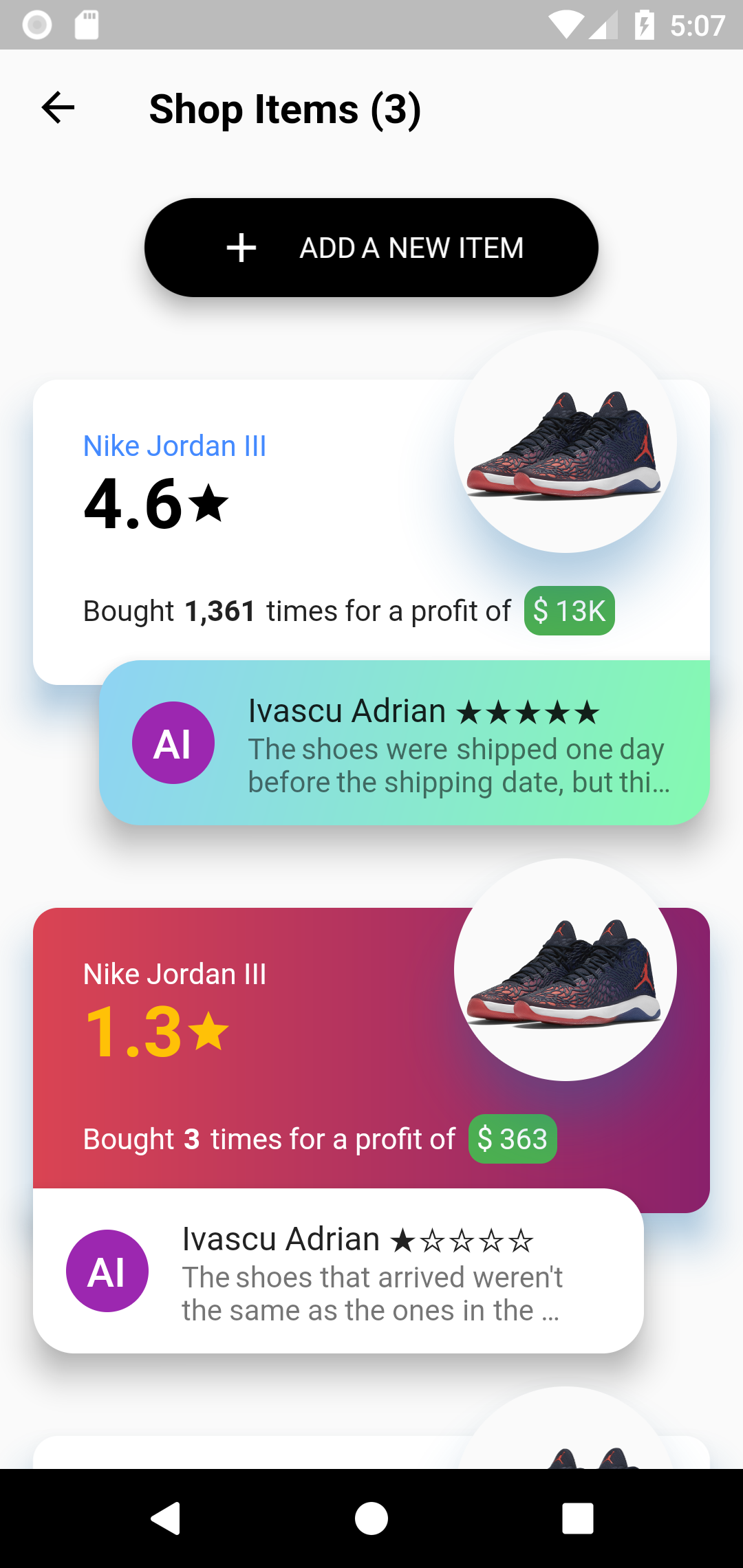 GitHub - Ivaskuu/dashboard: Dashboard concept made with Flutter