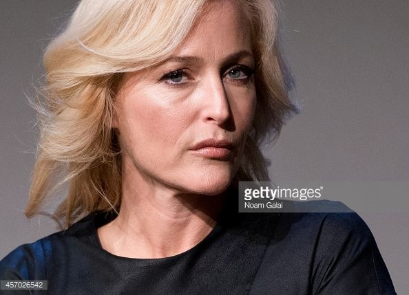 Foto di attualità : Actress and author Gillian Anderson attends 'Meet...