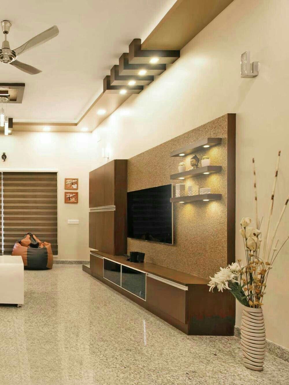 Living Room Interior Designs Tv Unit: Room Design By Namrata Shanbhogue On Home Ideas