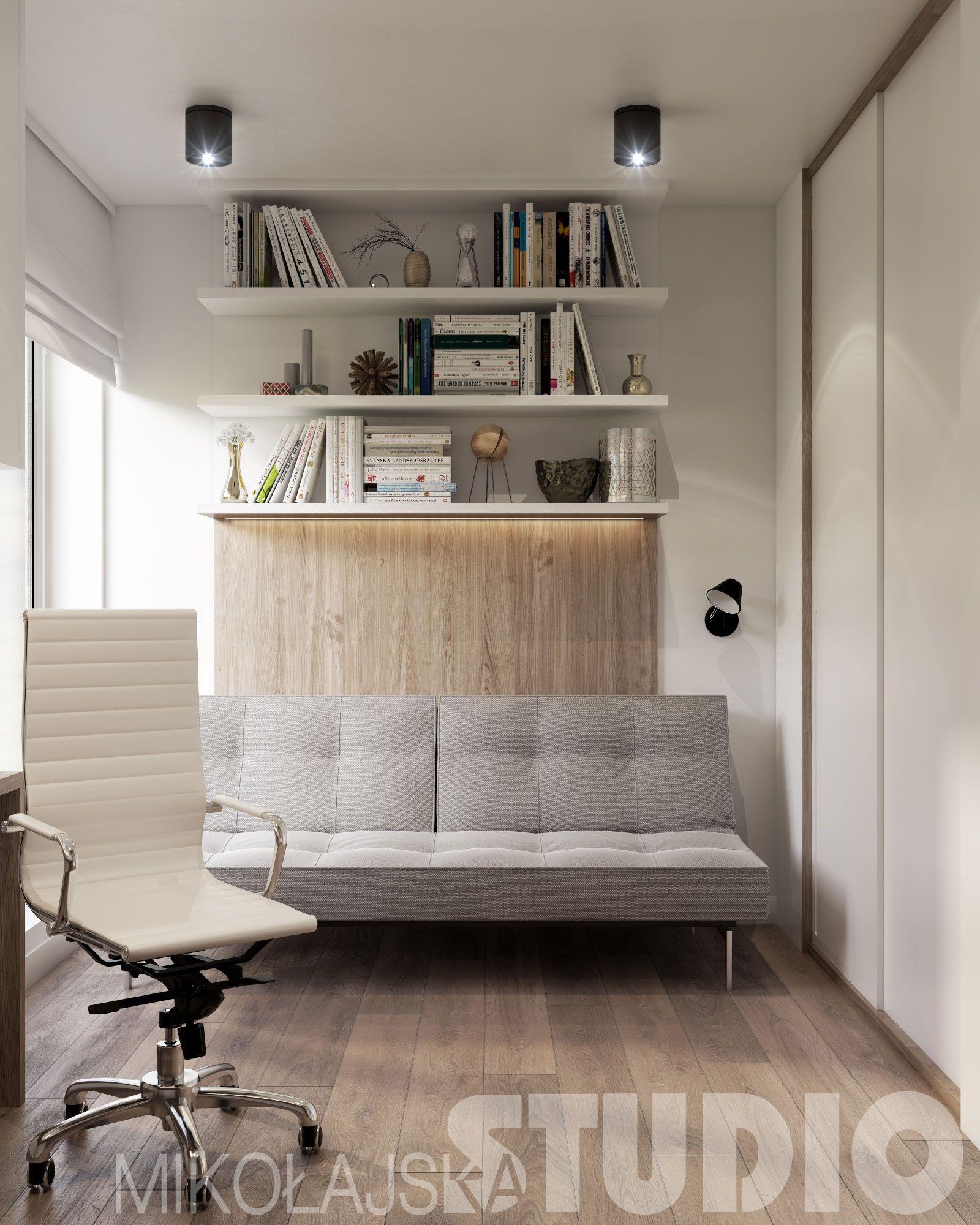 DOMOWE BIURO W STYLU SKANDYNAWSKIM Home decor, Interior