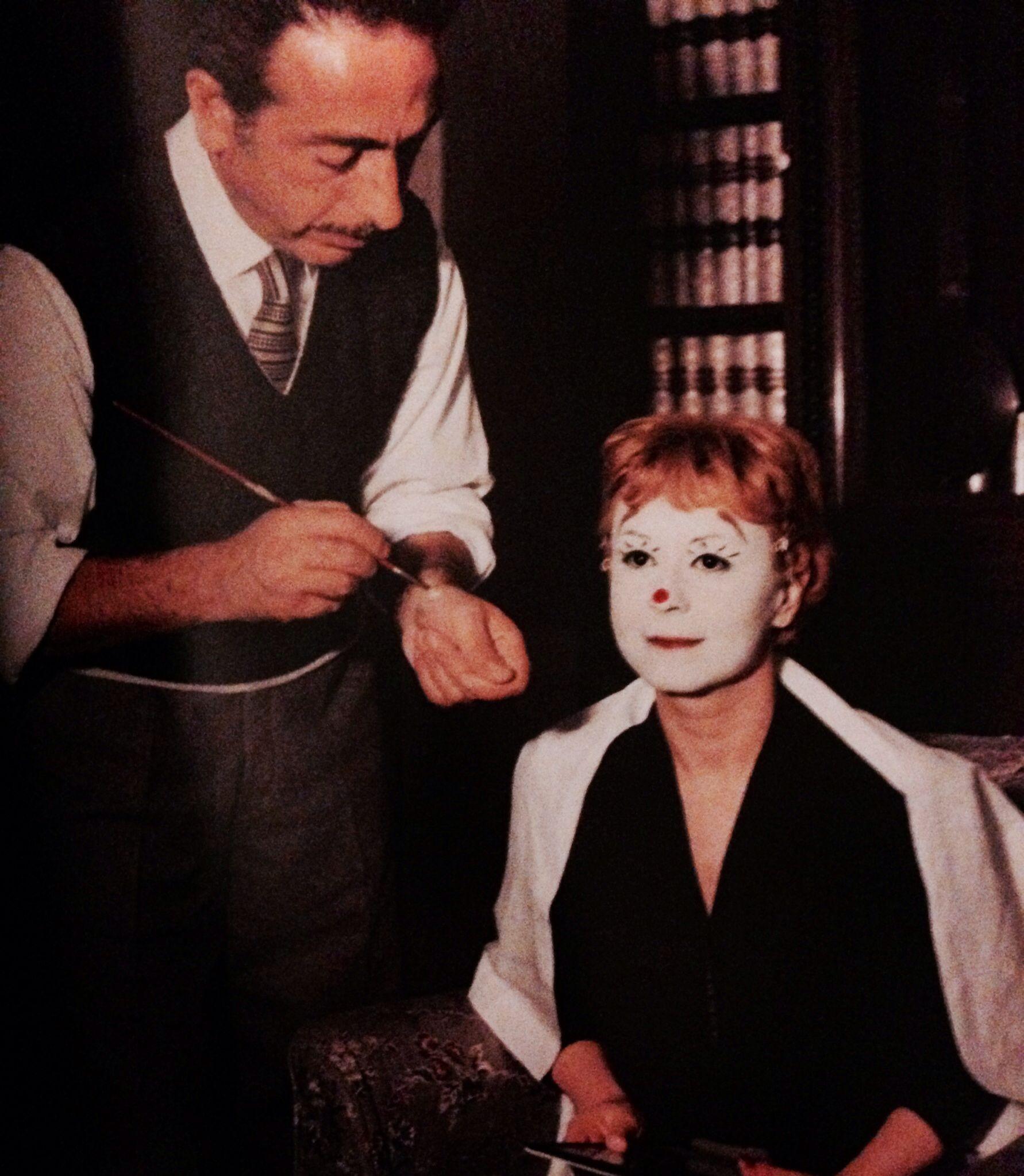 La Strada make up artist + actor, Fellini
