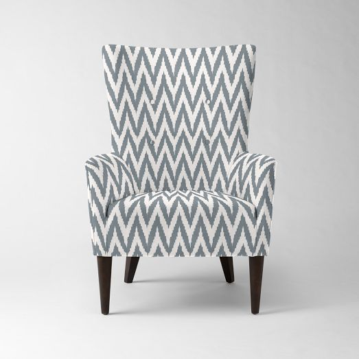 Love this, want this. Victor Armchair - Prints | west elm