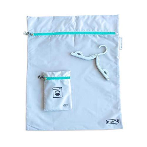 Amazon Com Mumi Travel Laundry Bag Keeps Laundry Separate From