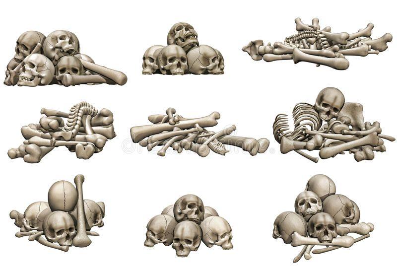 Skull And Bone Piles 3d Render Of Skull And Bone Piles Spon Bone Skull Piles Skull Render Ad Skulls Drawing Bone Drawing Skull Illustration