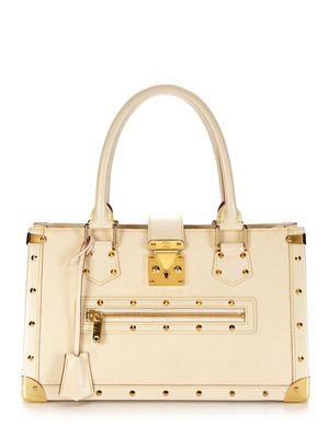 Louis Vuitton White Le Fabuleux Suhali Handbag
