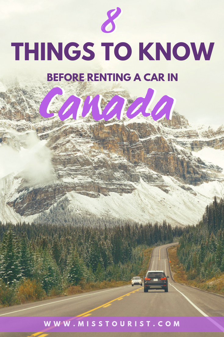 8 Things You Should Know Before Renting A Car In Canada