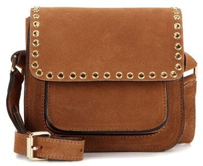 Marfa embellished suede crossbody bag Isabel Marant