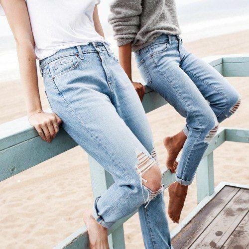 Imagem de jeans, fashion, and beach