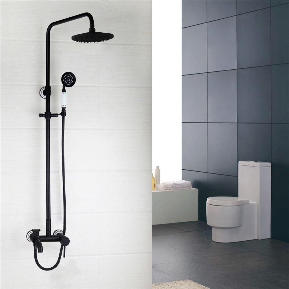 łazienka Prysznic Kran Klasyczne Orb Poszycia Opady Deszczu łazienka
