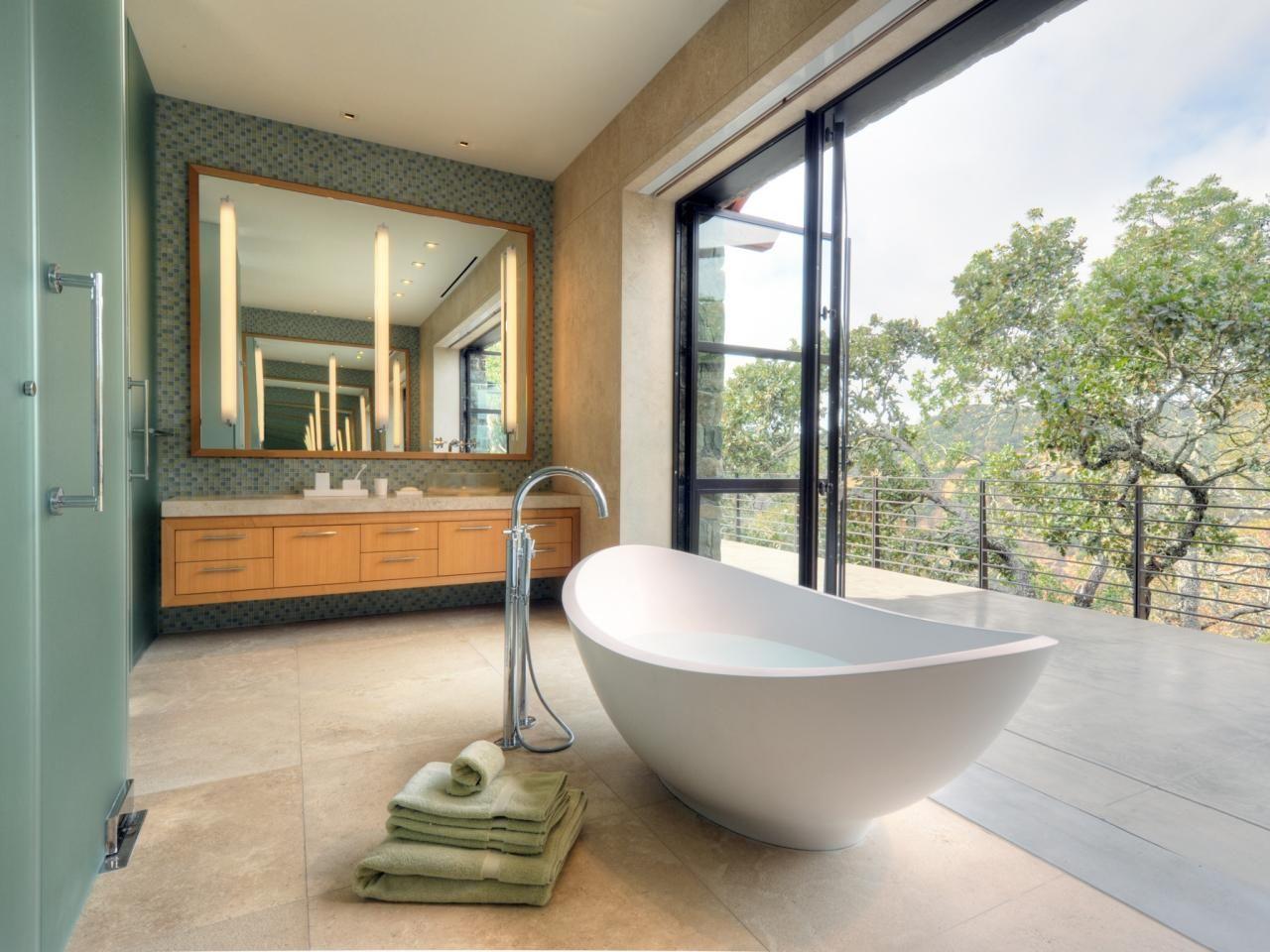 Favorite trends to try in retractable door freestanding tub