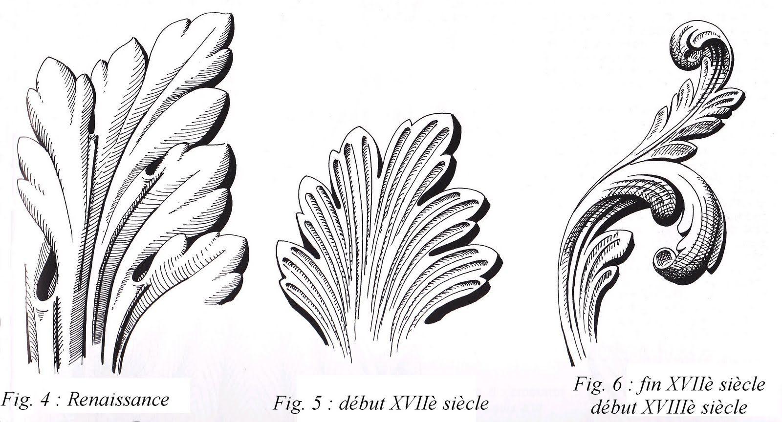 Feuilles acanthe art d coratif acanthus leaves pinterest acanthe cr ations d coratives et art - Feuille d acanthe ...