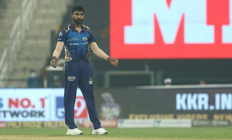 Check Out Images For Jasprit Bumrah In Action Get More Photos On Cricketnmore In 2020 Mumbai Indians Kolkata Knight Riders Man Of The Match