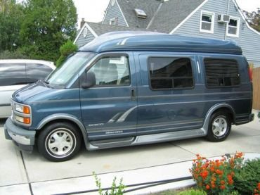 97 gmc savana conversion van