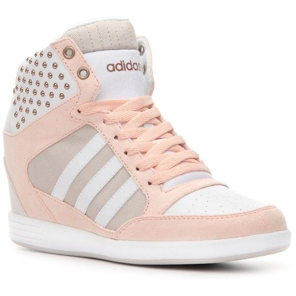 58bb50c9ebe adidas NEO Super Wedge Sneaker Womens ( 60) ❤ liked on Polyvore featuring  shoes