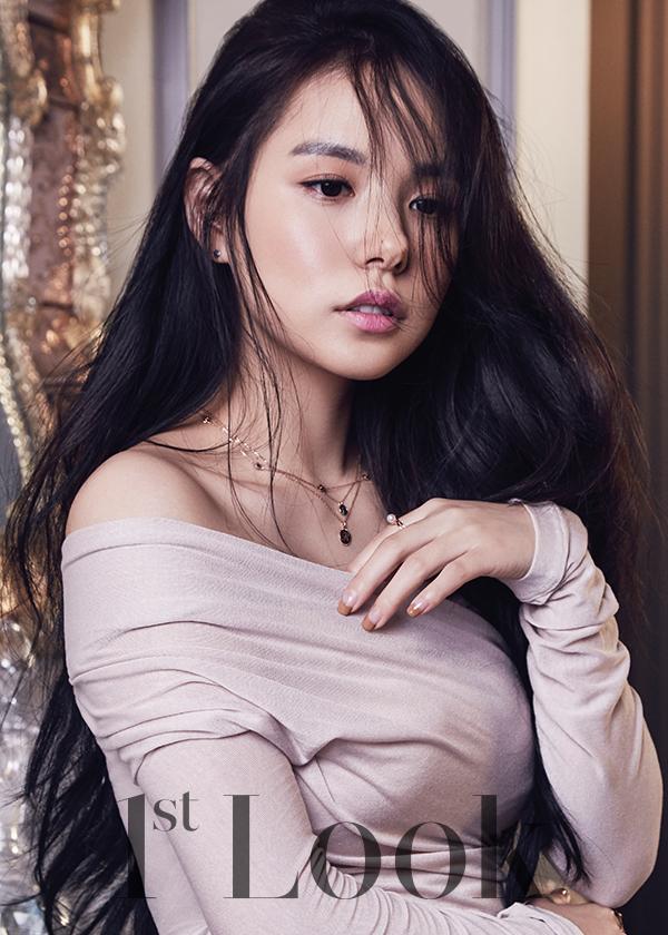Min Hyo Rin in 1st Look Korea