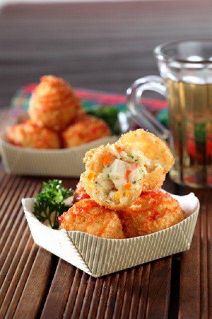 Bitterballen Seafood Sajian Sedap Resep Makanan Resep Makanan