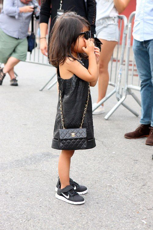 Most Stylish Kid Ever This Will Be Lorelai Oh Wait It Is Already With More Purses And Shoes Than Me