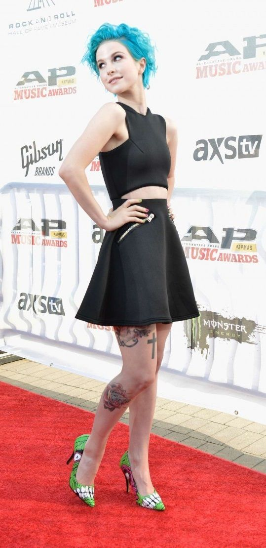 Hayley Williams 2014 Alternative Press Music Awards Hayley Williams Hayley Williams Style Fashion