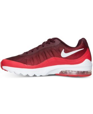 online retailer b24bc 7089a Nike Men s Air Max Invigor Print Running Sneakers from Finish Line - Red 11