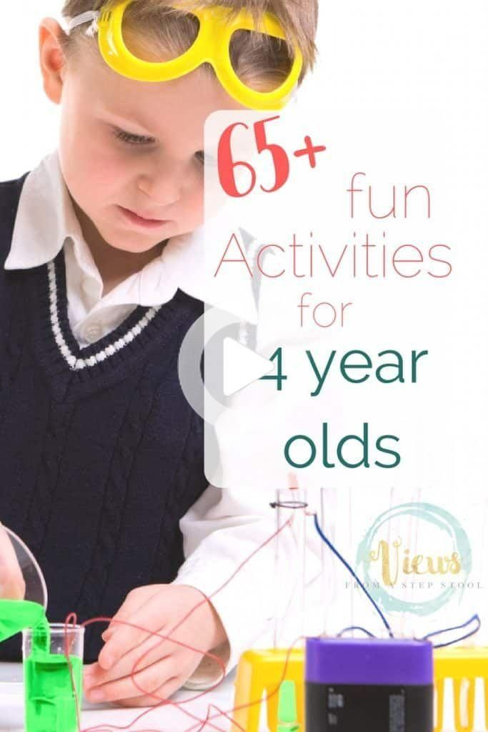 55+ Activities for 5 Year Olds