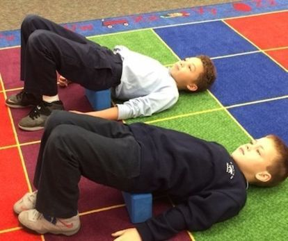 a polar expressthemed yoga sequence for kids  yoga for