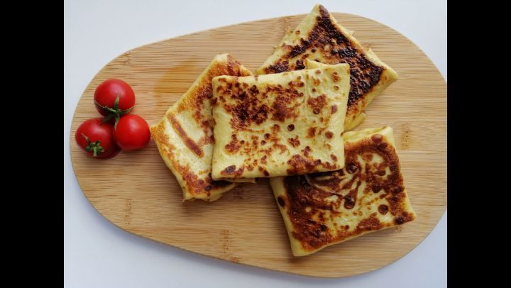 """Derya Mutfak'ta Instagram'da bir video paylaştı: """"Kahvaltılık Krep Börek Tarifi.  Sesli ve yazılı an"""
