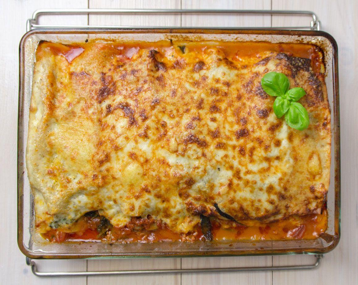 lasagne al forno mit spinat combi steam rezepte pinterest dampfgarer lasagne und kombis. Black Bedroom Furniture Sets. Home Design Ideas