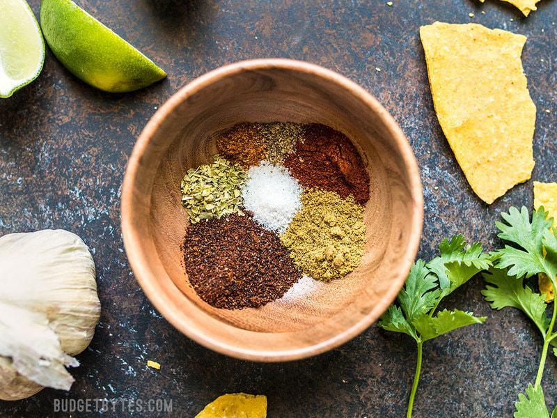 Quick & Easy Homemade Taco Seasoning - Budget Bytes