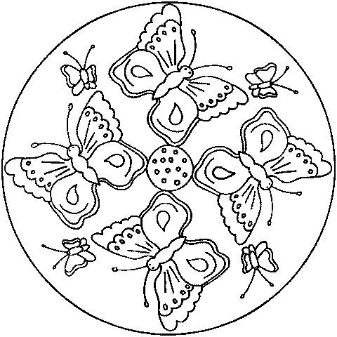 A Few Parchment Craft Mandala Patterns | Ausmalbilder ...