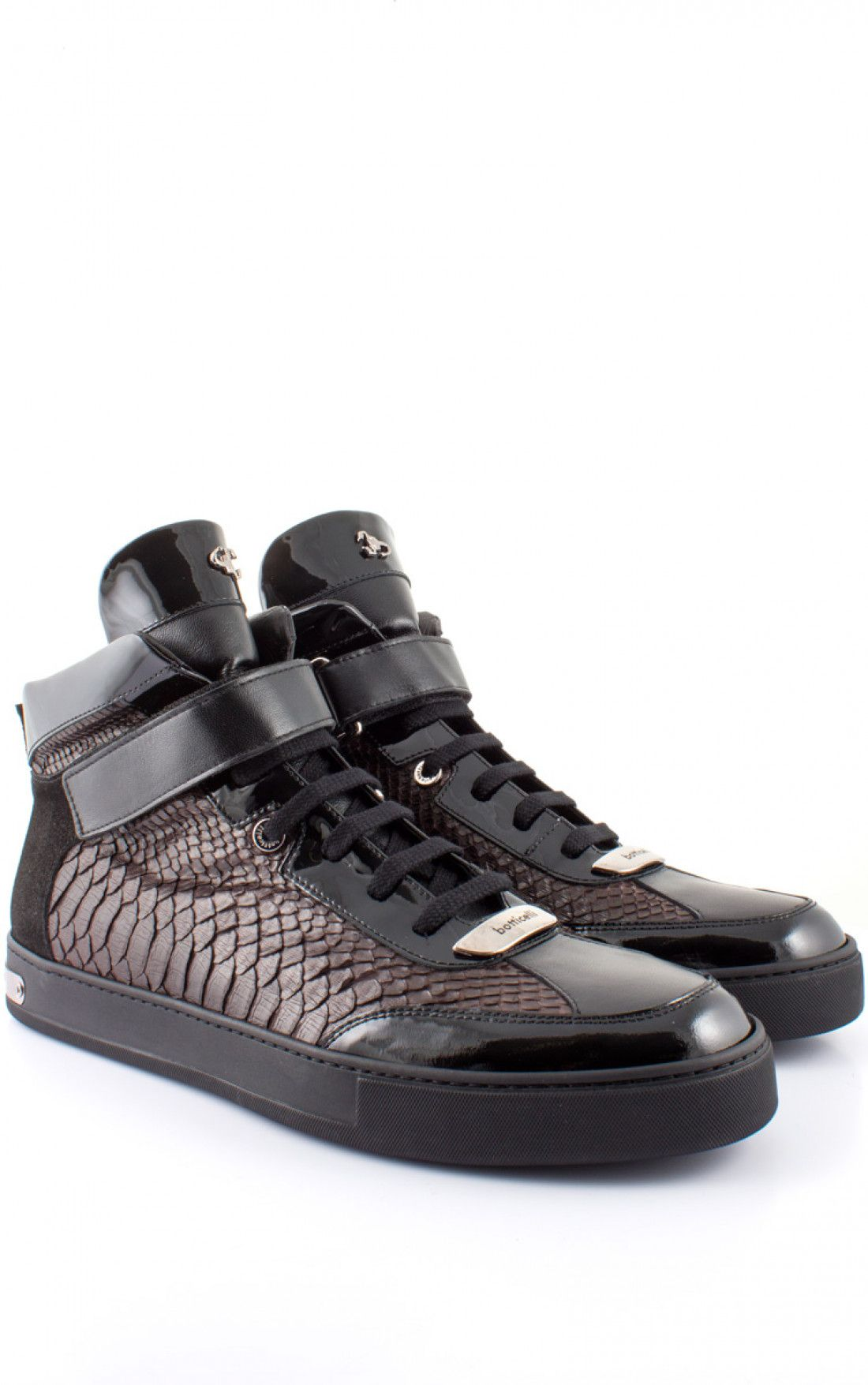 5e33e81aaccb ROBERTO BOTTICELLI   Python Hightop Black