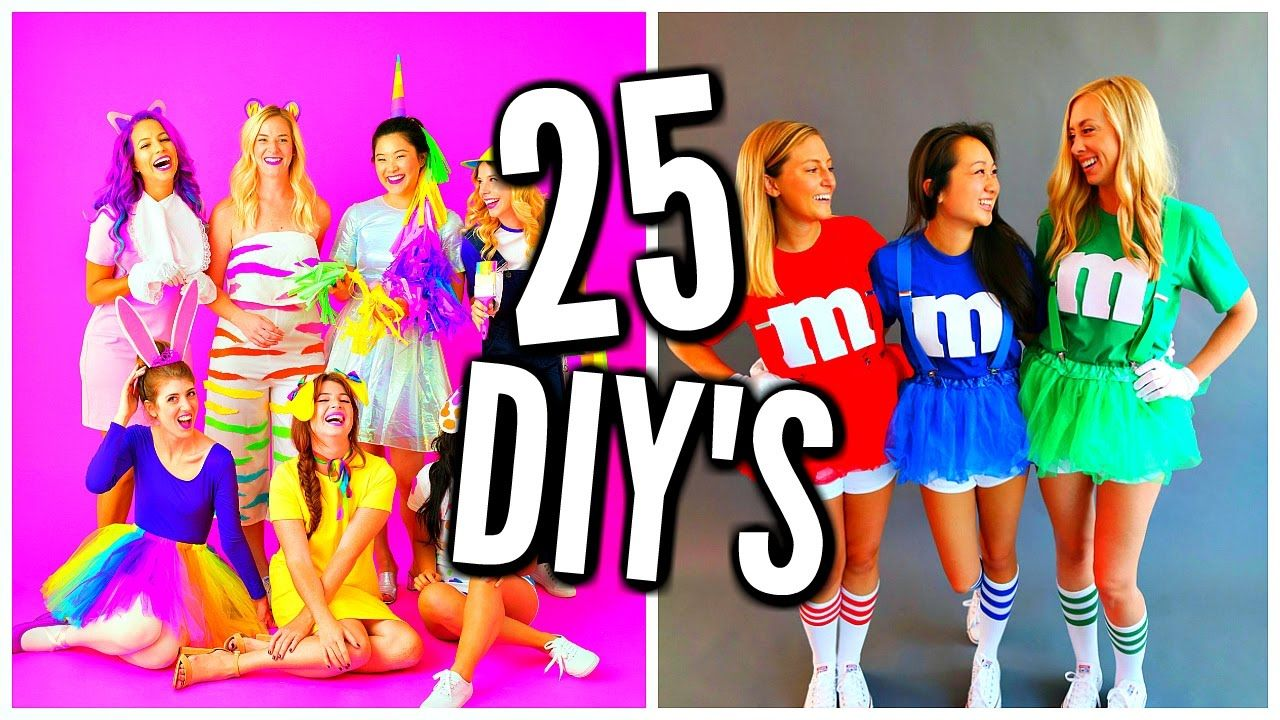 27 DIY Halloween Costume Ideas! Costumes For Groups & Couples