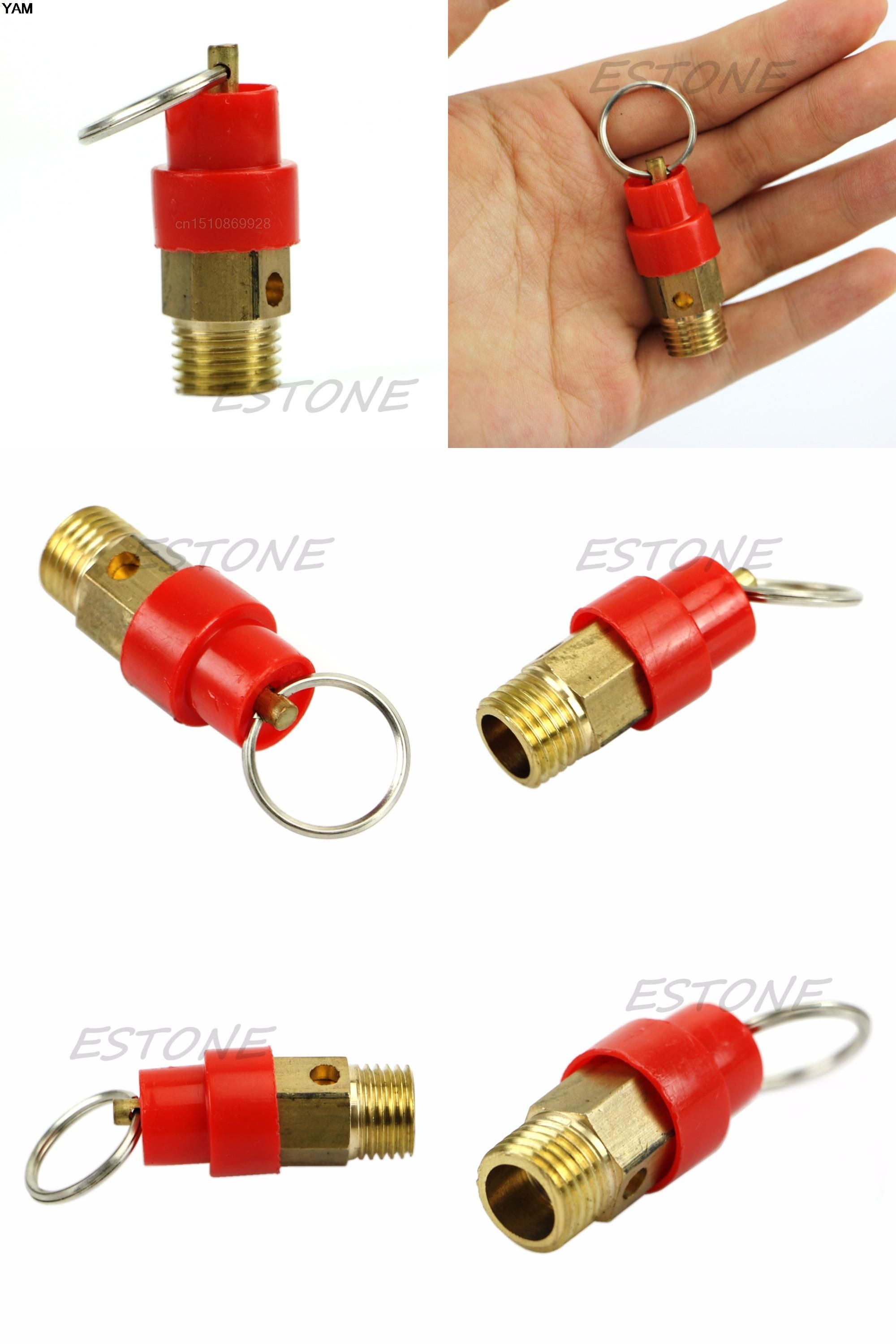 [Visit to Buy] Air Safety Release Valve 1/4'' 8KG BSP Air