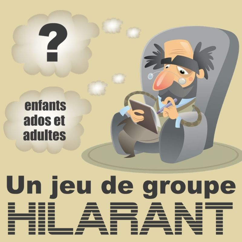 Jeu De Groupe Hilarant Le Psychiatre Franceza Games Diy For