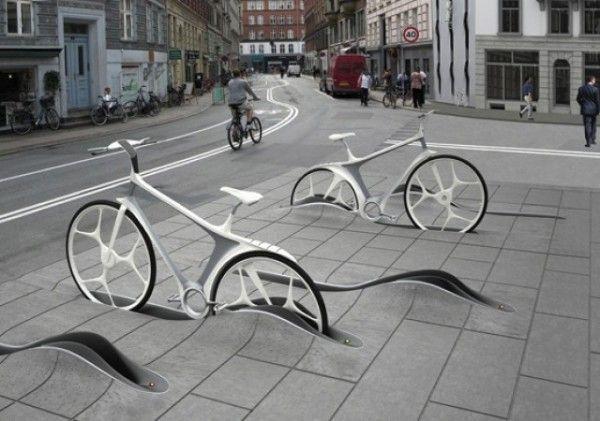 Integrando las bicicletas en el paisaje urbano
