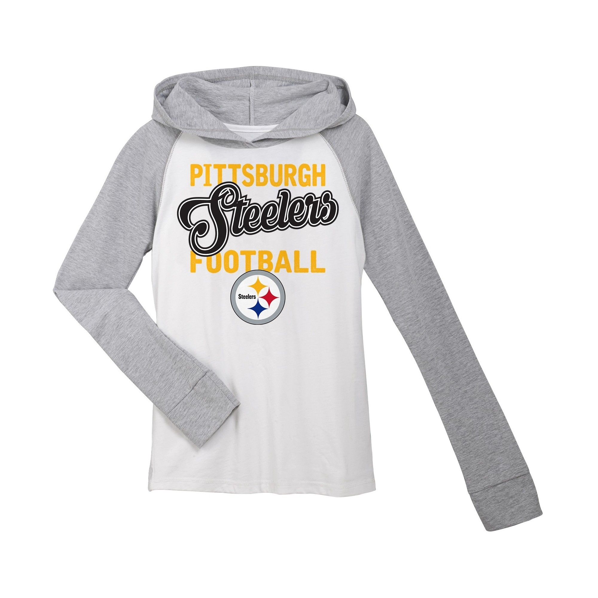 newest collection 4b6bf 42564 Pittsburgh Steelers Sweatshirt S, Girl's, Size: Small, White ...