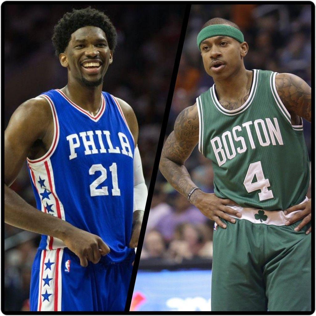 The Philadelphia 76ers and Boston Celtics swap draft picks, Philly trading  the 3rd I 2017