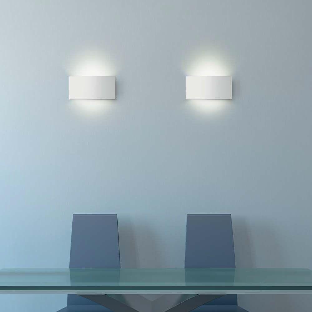 Keoii Wandleuchte Schlichte Indirekte Beleuchtung Mit Der Rechteckigen Wandleuchte Wandbeleuchtung Wandleuchte Design Leuchten