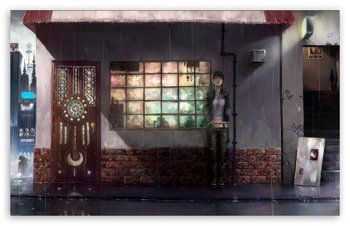 Raining Day Anime Wallpaper Pretty Anime Wallpaper In 2018