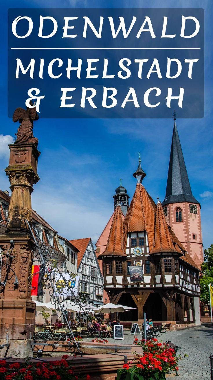 City Guide für die Städte Michelstadt & Erbach - mit historischer Altstadt im Odenwald
