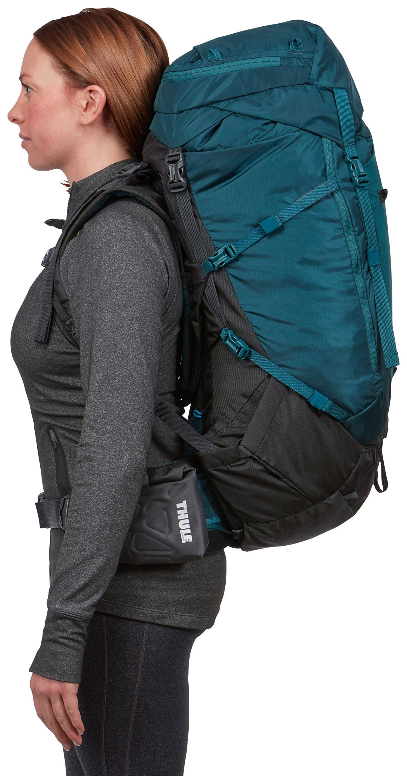 c63ce1b94 Thule Versant 60L Womens Backpacking Pack Deep Teal  #HikingBackpackRainCovers