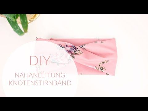 Photo of DIY: sewing instructions for beginners; Knot headband / bandeau, just sew yourself