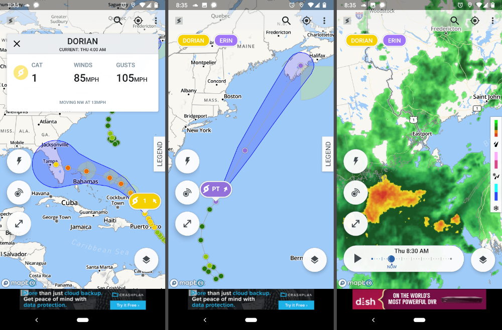 The 5 Best Hurricane Tracker Apps of 2020 App, Android