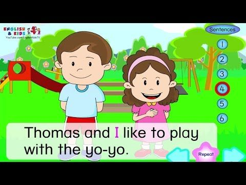 Simple English Conversation Dialogues for Kids +Children with