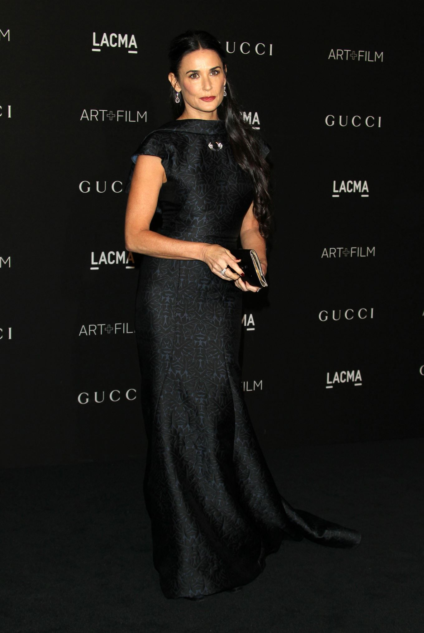Demi Moore attends the 2014 LACMA Art + Film Gala presented by Gucci at the LACMA in Los Angeles, Calif., on Nov. 1, 2014.