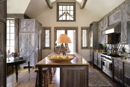 ranch style kitchen designs. Contemporary Ranch Kitchen  Weathered Gray Barn Style Cabinet With Island Seating Onsitemanagement