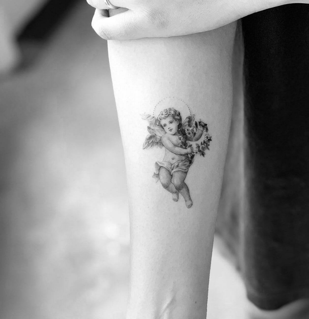 100 Angel Tattoo Ideas for Men and Women